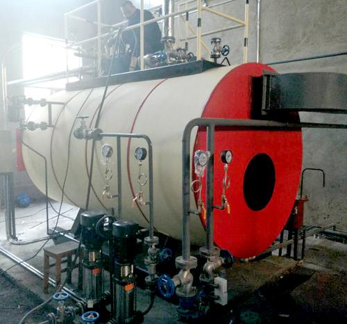 大连金华酒店-2吨燃气锅炉