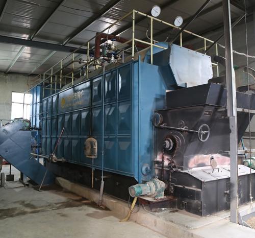 金嘉物资回收有限公司-4吨生物质锅炉