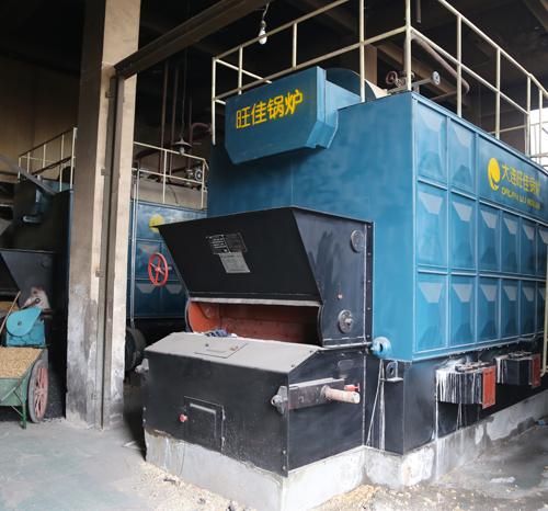 瑞耕服装有限公司2吨生物质蒸汽锅炉