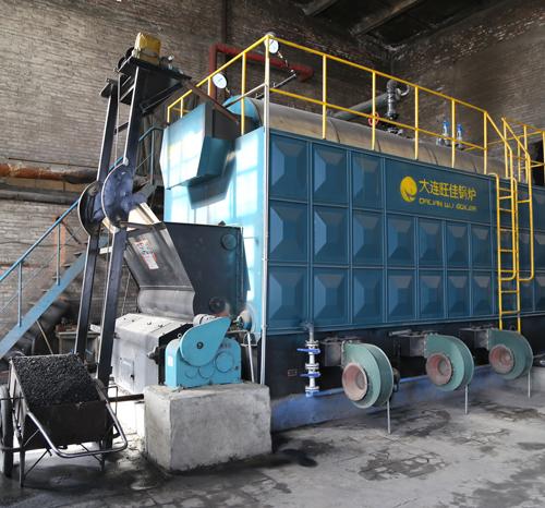 中国江本有限公司兰炭热水4吨