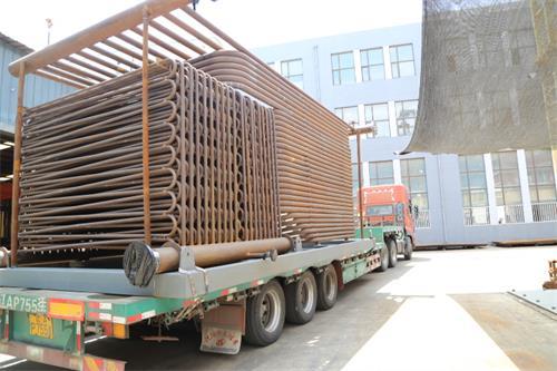 鞍山五环化工有限公司8吨导热油锅炉