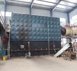 大连盛友门业有限公司-10吨导热油锅炉