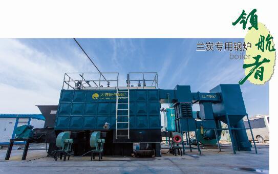兰炭专用环保锅炉
