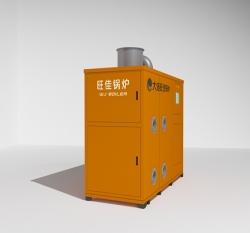 生物质热风取暖炉