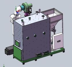 旺佳新型兰炭热水锅炉